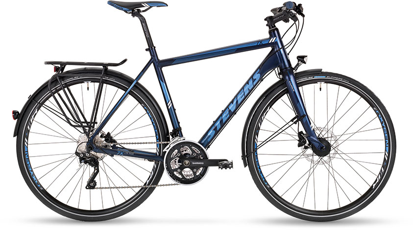 7x lite disc tour gent blue